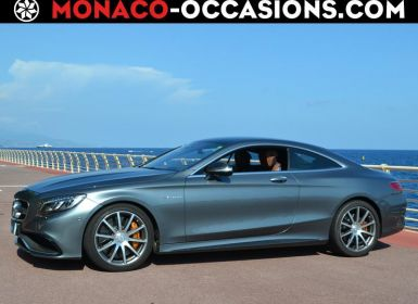 Vente Mercedes Classe S Coupe 63 AMG 4Matic Speedshift MCT AMG Occasion