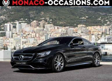 Mercedes Classe S Coupe 63 AMG 4Matic Speedshift MCT AMG Occasion