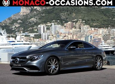 Achat Mercedes Classe S Coupe/CL 63 AMG 4Matic Speedshift MCT AMG Occasion
