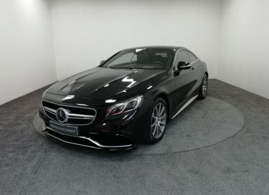 Voiture Mercedes Classe S Coupe/CL 63 AMG 4Matic Speedshift MCT AMG Occasion