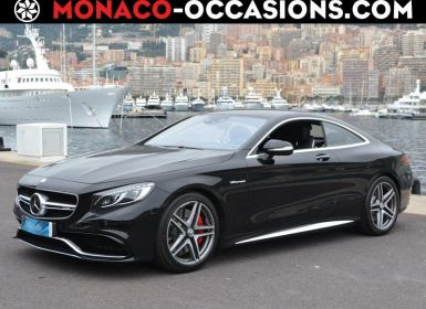 Voiture Mercedes Classe S Coupe/CL 63 AMG Speedshift MCT AMG Occasion