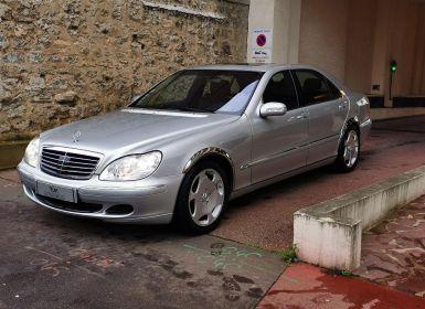 Mercedes Classe S MERCEDES CLASSE S V 600 LIMOUSINE BVA 43CV