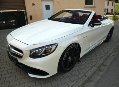 Vente Mercedes Classe S S 63 AMG 4MATIC Cabriolet, Pack Exclusif, Phares Swarovski, Distronic, Caméra 360°, Affichage tête haute Occasion