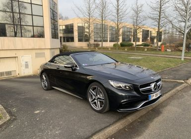 Vente Mercedes Classe S S 63 AMG COUPE CABRIOLET Occasion