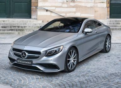 Vente Mercedes Classe S S63 AMG 4Matic Coupé *Designo Magno Paint* Occasion