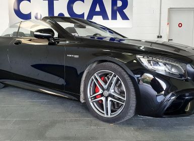 Vente Mercedes Classe S S63 AMG CABRIOLET 4MATIC+ Occasion