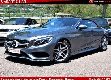 Vente Mercedes Classe S VII CABRIOLET 500 AMG LINE Occasion