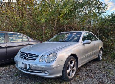 Mercedes CLK 320 v6 218 elegance bva 10/2002 CUIR ELECTRIQUE CHAUFFANT
