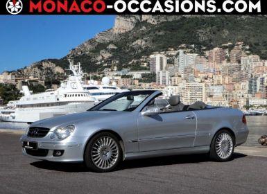 Vente Mercedes CLK Cabriolet 500 V8 Avantgarde 7GTro Occasion