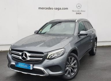 Acheter Mercedes GLC 220 d 170ch Fascination 4Matic 9G-Tronic Occasion
