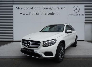 Vente Mercedes GLC 220 d 170ch Fascination 4Matic 9G-Tronic Occasion