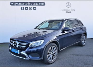 Acheter Mercedes GLC 250 211ch Fascination 4Matic 9G-Tronic Occasion