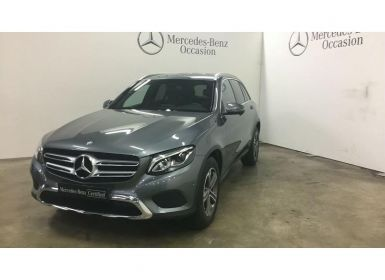 Achat Mercedes GLC 250 d 204ch Business Executive 4Matic 9G-Tronic Occasion