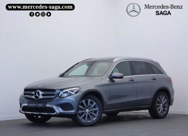 Vente Mercedes GLC 250 d 204ch Fascination 4Matic 9G-Tronic Occasion
