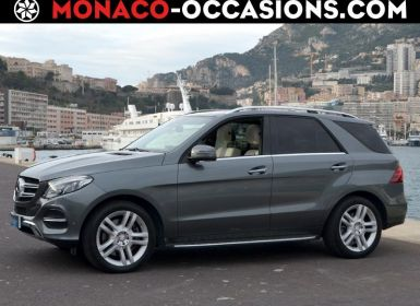 Voiture Mercedes GLE 500 455ch Fascination 4Matic 9G-Tronic Occasion