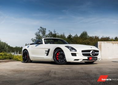 Vente Mercedes SLS AMG Roadster Designo White Carbon pack Occasion