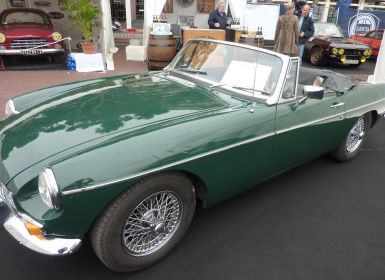 Vente MG MGB Cabriolet - Voiture de Collection Occasion