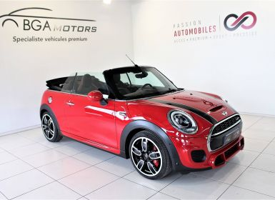 Vente Mini Cabrio CABRIOLET F57 231 ch John Cooper Works BVA6 Finition JCW Exclusive Design Occasion