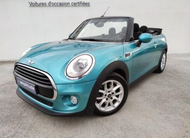 Mini Cabrio Cooper 136ch Chili BVA7 Euro6d-T