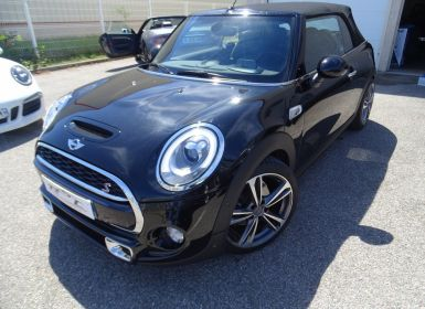 Vente Mini Cabrio Cooper SD 2.0L 170ps BVA Pack Chili / Jantes 18 LED  GPS  Ord  Saute Vent Occasion