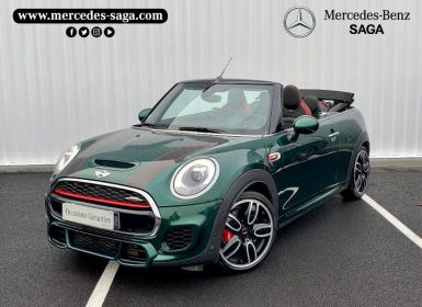 Vente Mini Cabrio John Cooper Works 231ch Exclusive Design BVAS Occasion