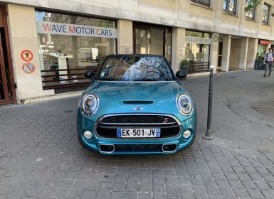 Achat Mini Cabrio mini cooper s bva8 red hot chili Occasion