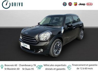 Achat Mini Countryman Cooper D 112ch Pack Chili Occasion