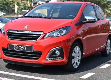 Vente Peugeot 108 1.0 VTI 72 S&S 3CV STYLE 5P GARANTIE 1MAIN Occasion