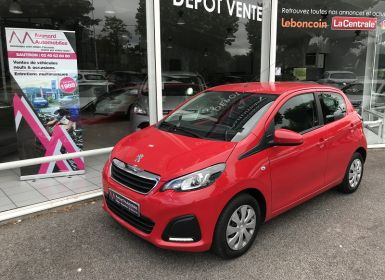 Vente Peugeot 108 1.0 VTI ACTIVE ETG5 5P Occasion