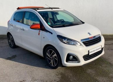 Vente Peugeot 108 1.2 PureTech Roland Garros Top 5p Occasion