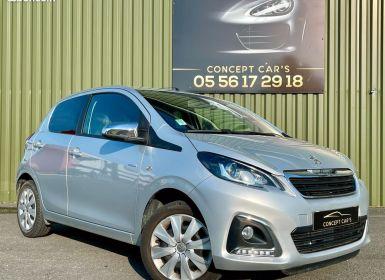 Vente Peugeot 108 5 Portes 1.0 e-VTi 72 12V S&S 72 cv Occasion