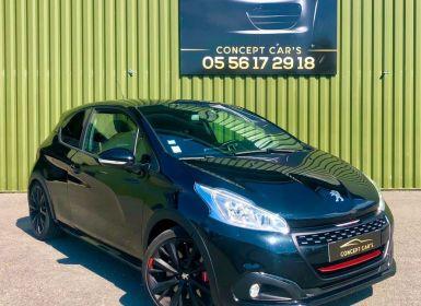 Vente Peugeot 208 GTi BPS 208cv 1.6L berline, noir, 11 cv, 3 portes, couleur intérieure : noir Occasion