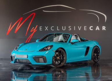 Vente Porsche 718 Spyder ETAT NEUF - En Stock - Malus Payé - TVA Apparente - Pack Cuir / Race Tex Occasion