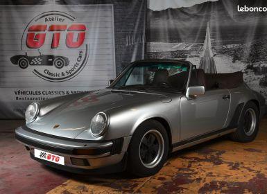 Vente Porsche 911 3,2 cabriolet Occasion