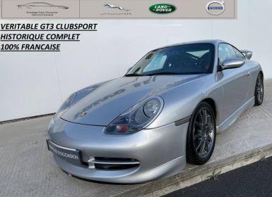 Vente Porsche 911 360ch GT3 CLUBSPORT BV6 Occasion