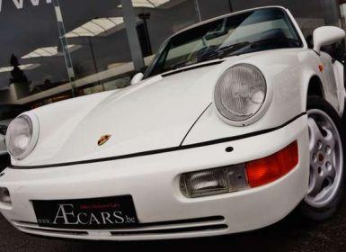 Vente Porsche 911 964 CARRERA 4 CABRIOLET FULL HISTORY - - Occasion