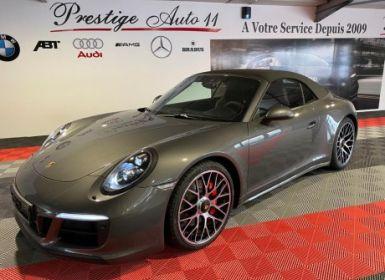 Vente Porsche 911 (991) (2) cabriolet 3.0 450 carrera 4 gts pdk LOA 1 350 / mois Occasion
