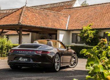 Porsche 911 991 C4S - CABRIO - SPORT EXHAUST - BELGIAN
