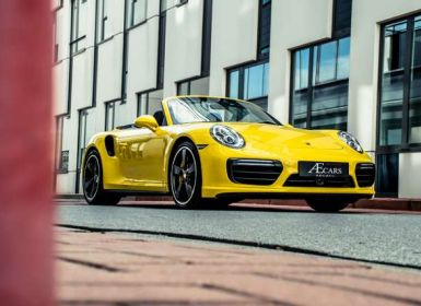 Vente Porsche 911 991.2 TURBO S - 1 OWNER - FULL - CARBON Occasion