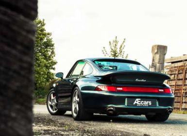 Porsche 911 993 TURBO - AVENTURA GREEN - BELGIAN CAR