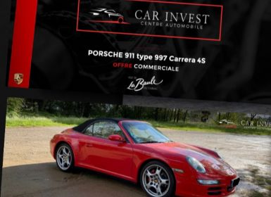 Vente Porsche 911 cabriolet carrera 4s etat collection Occasion
