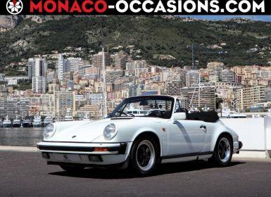 Vente Porsche 911 CARRERA 3.2L Cabriolet Occasion