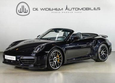 Vente Porsche 911 TYPE 991 (2) CABRIOLET TURBO S 3.8 580 Occasion