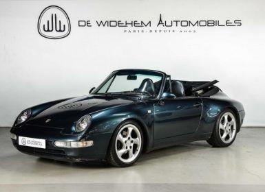 Vente Porsche 911 TYPE 993 CABRIOLET CARRERA Occasion