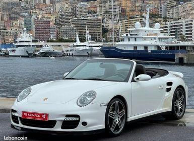 Vente Porsche 911 type 997 Turbo Cabriolet 480ch Tiptronic Occasion