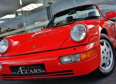 Vente Porsche 964 - CARRERA 4 - CABRIO - FULL HISTORY - EUROPEAN - Occasion