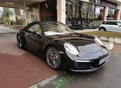 Achat Porsche 991 3.0 420CV 4S CABRIOLET Occasion