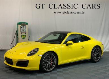 Vente Porsche 991 991.2 Carrera 4S Jaune Racing Occasion