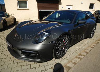 Porsche 992 911 Carrera 4S, SportDesign, Toit pano, Caméra 360°, Pack Chrono, Échappement sport...