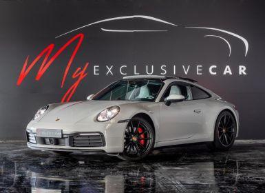 Achat Porsche 992 Carrera 4S PDK8 - Pack Chrono, échapp Sport, Roues AR Directrices, Sono Burmeister, Régul. Adaptatif, ... (43.266 € D'options) - Révisée 03/2021 Occasion